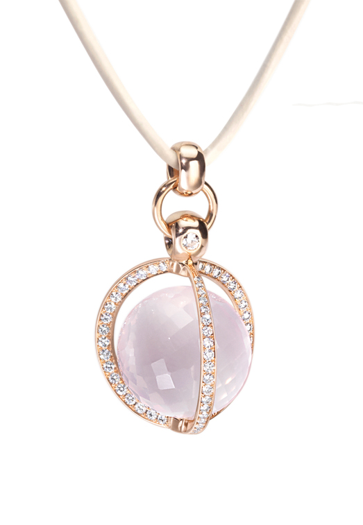 pendant with diamonds Furrer jacot