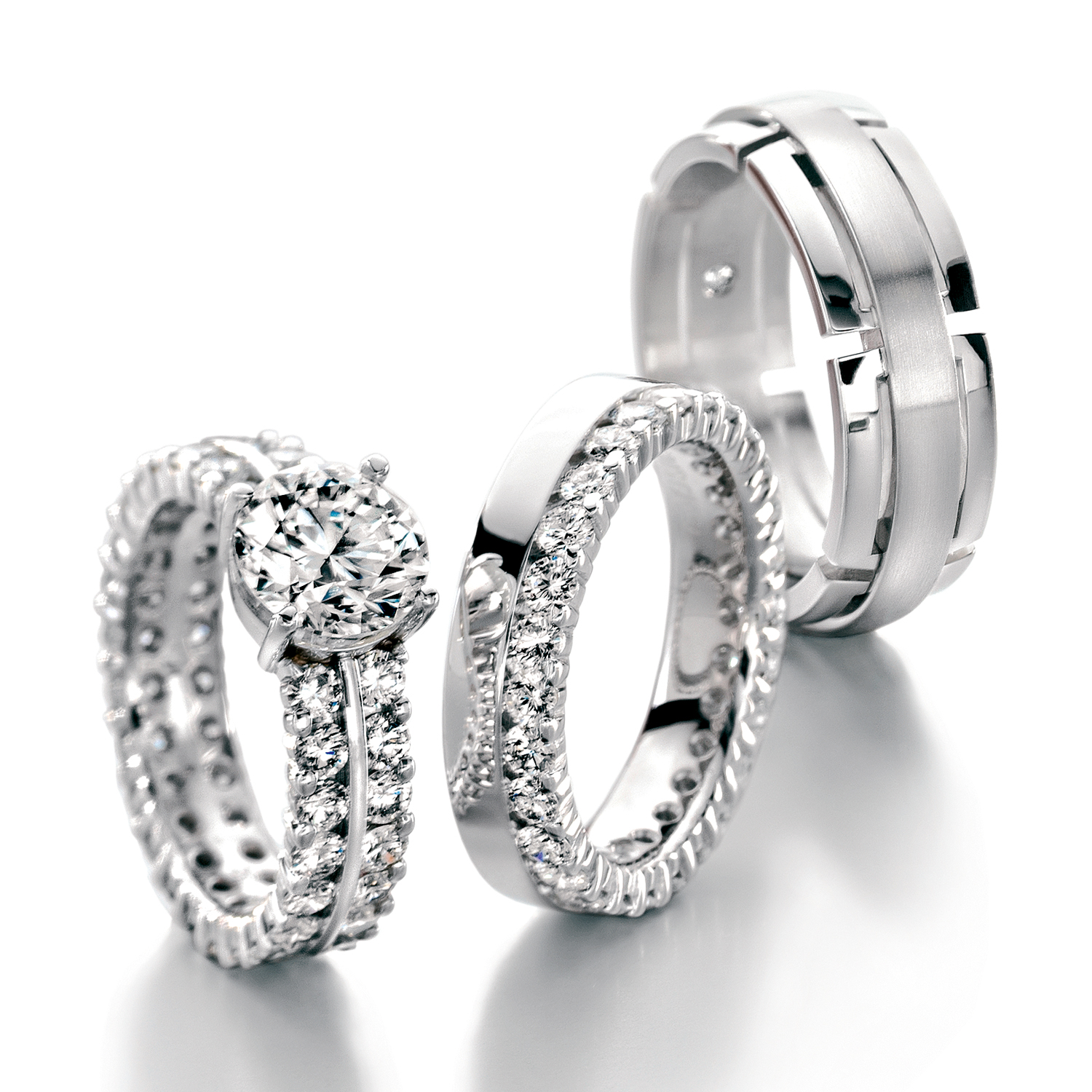 Engagement rings, Triset Furrer Jacot
